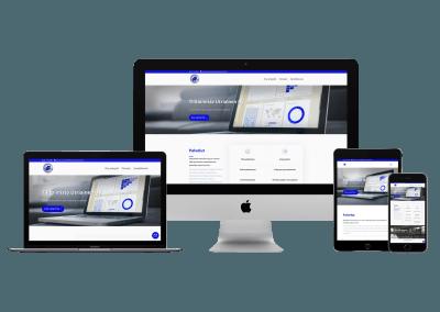 WordPress kotisivut yritykselle Tilitoimisto Utriainen