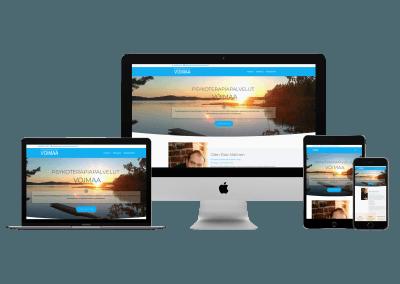 WordPress Kotisivut Yritykselle Psykoterapiapalvelut Voimaa