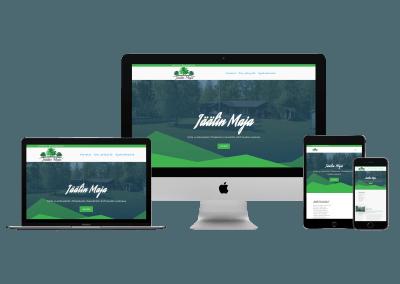 WordPress Kotisivut Yritykselle Jäälin Maja
