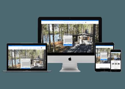 WordPress kotisivut yritykselle Hakojärven Kelomajat