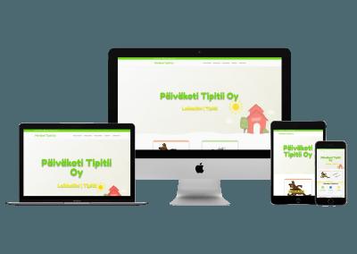 WordPress kotisivut yritykselle Luovat Päiväkodit