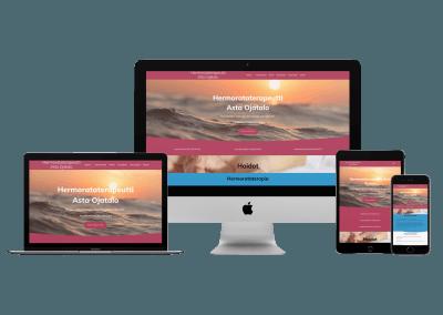 WordPress Kotisivut Yritykselle Hermorataterapeutti Asta Ojatalo