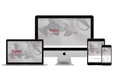 WordPress Kotisivut Yritykselle Kampaamo Figuuri