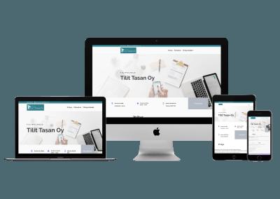 WordPress Kotisivut Yritykselle Tilit Tasan oy