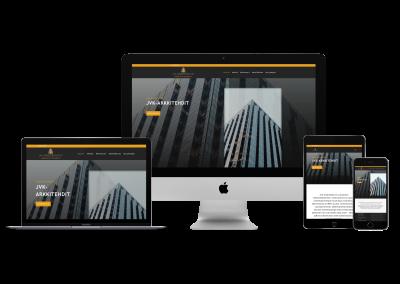 WordPress kotisivut yritykselle JVK-Arkkitehdit