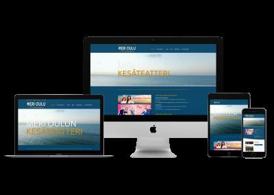 WordPress Kotisivut Yritykselle Meri Oulun Kesäteatteri