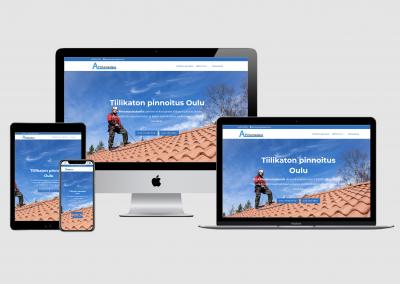WordPress kotisivut yritykselle A-Pintamaalaus