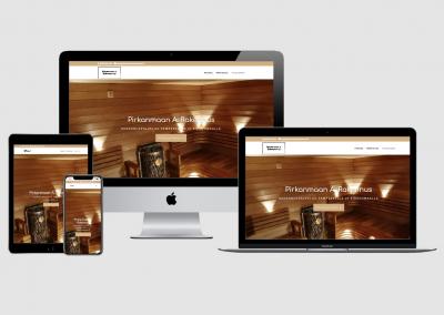 WordPress kotisivut yritykselle Pirkanmaan A. Rakennus Oy