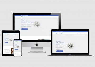 WordPress kotisivut yritykselle Akvatek