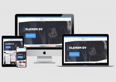 WordPress kotisivut yritykselle Elenom Oy