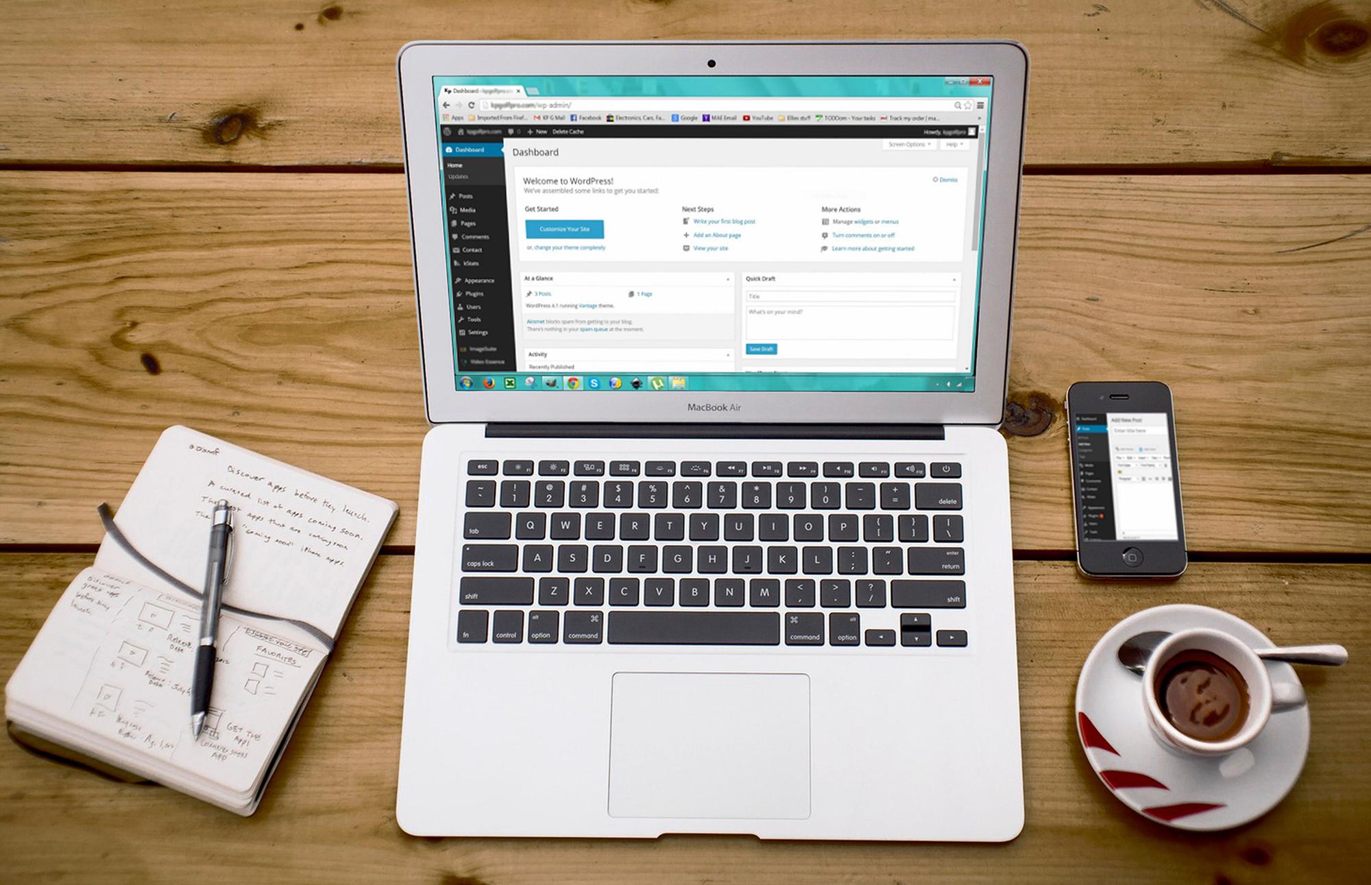 Wordpress kotisivut yritykselle.
