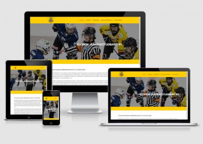 WordPress kotisivut yritykselle Kuopion Jääkiekkotuomarit