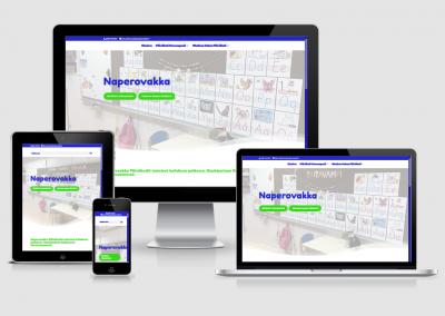WordPress kotisivut yritykselle Naperovakka