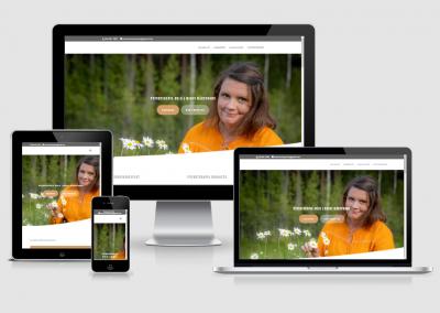 WordPress kotisivut yritykselle Psykoterapeutti Mervi Märsynaho