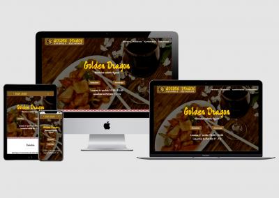 WordPress kotisivut yritykselle Golden Dragon
