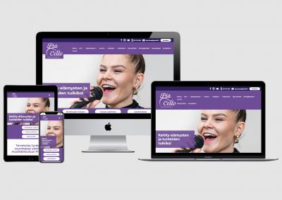 WordPress kotisivut yritykselle Musiikkikoulu PiaCello Oy