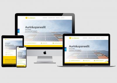 WordPress kotisivut yritykselle SunElement Oy