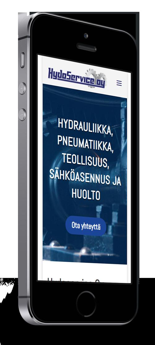 Mobiilioptimointi, kotisivut yritykselle Hydoservice Oy toteuttaa Kotisivusi.fi.