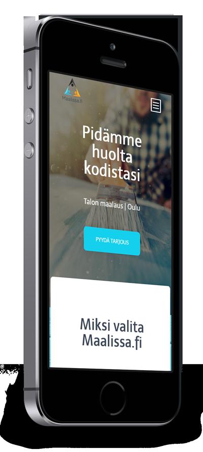 Mobiilioptimointi, kotisivut yritykselle Maalissa.fi toteuttaa Kotisivusi.fi.