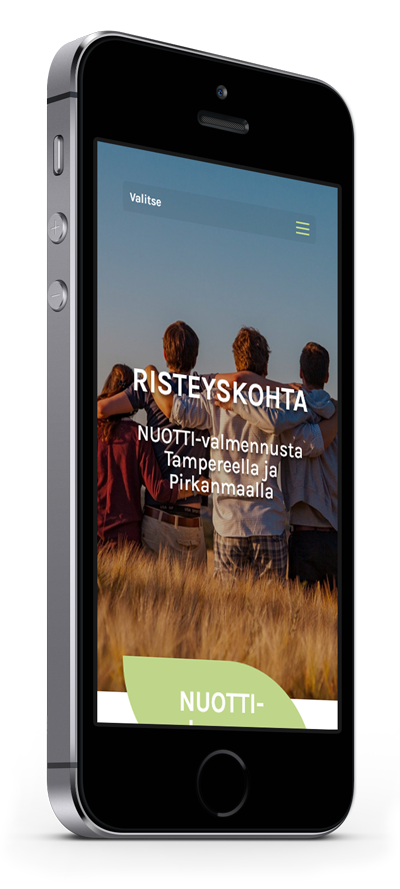 Mobiilioptimointi, kotisivut yritykselle Risteyskohta Oy toteuttaa Kotisivusi.fi.