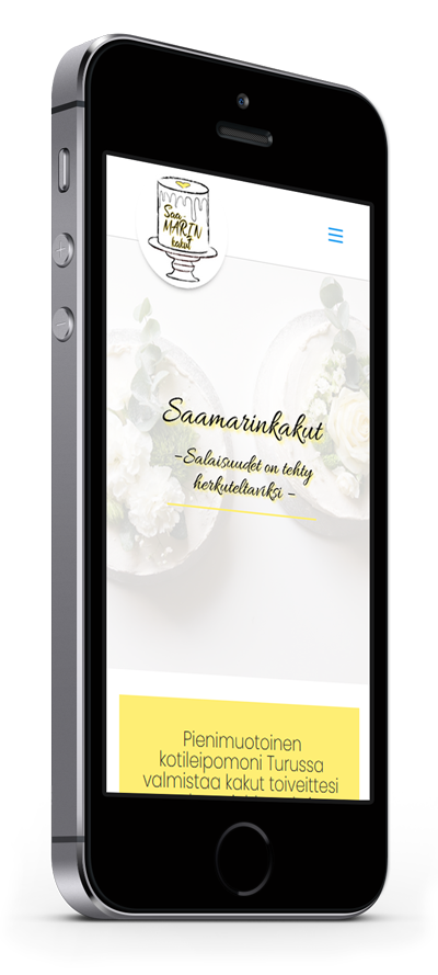 Mobiilioptimointi, kotisivut yritykselle Saamarinkakut toteuttaa Kotisivusi.fi.