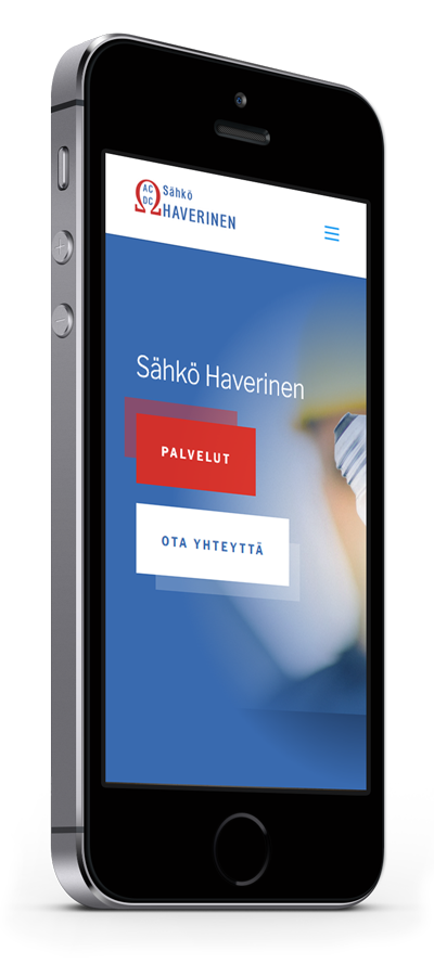 Mobiilioptimointi, kotisivut yritykselle Sähkö Haverinen toteuttaa Kotisivusi.fi.